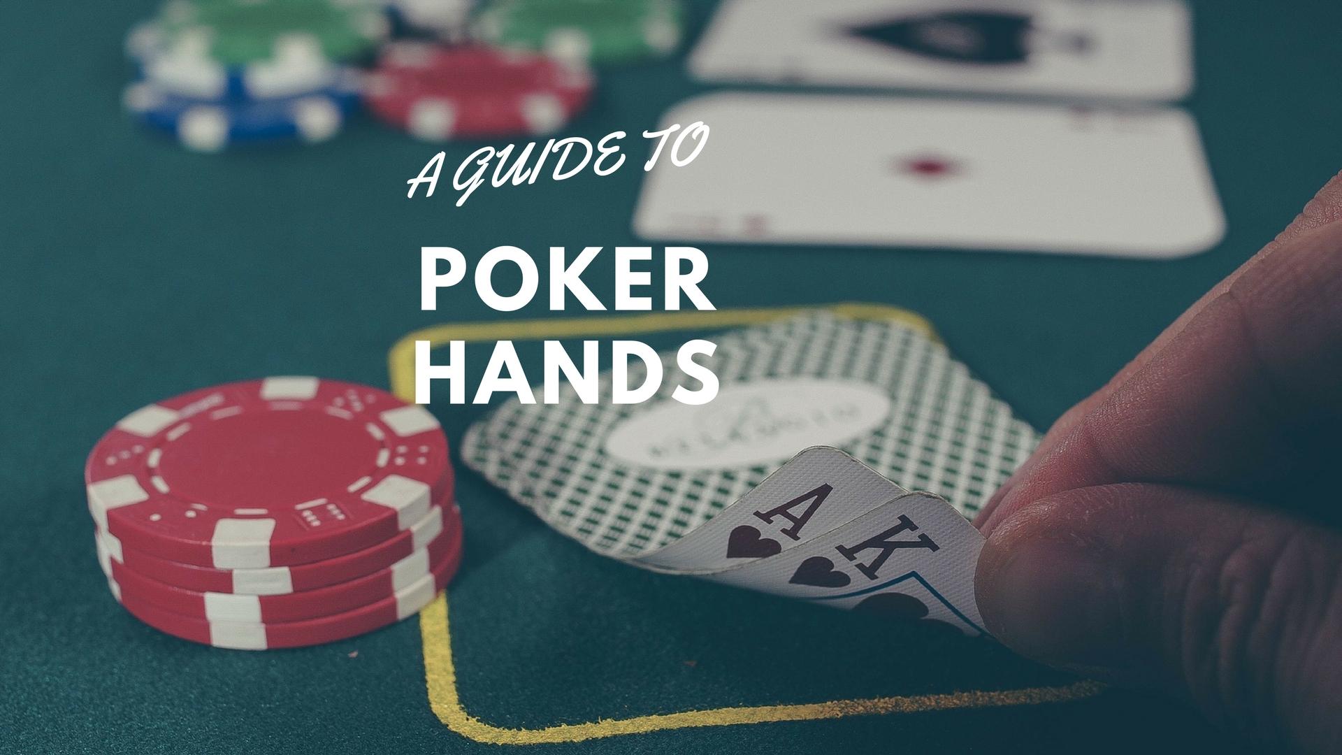 Easy guide to texas holdem poker